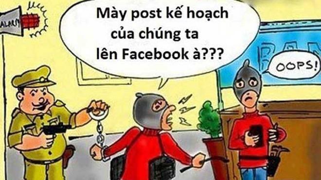 Đừng nghĩ facebook là cuốn nhật ký riêng tư của bạn. Ảnh: minh họa