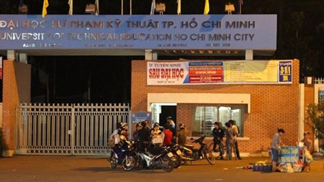 Trường ĐH Sư phạm kỹ thuật TPHCM, nơi nam sinh rơi lầu tử vong