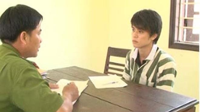 Nguyễn Văn Hòa tại Cơ quan điều tra.