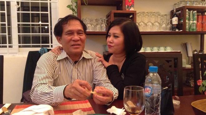 Minh Hằng hạnh phúc với người chồng hiện tại