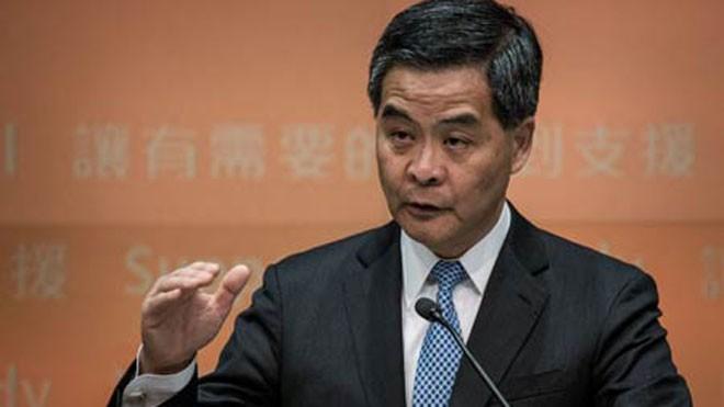 Trưởng đặc khu hành chính Hồng Kông Lương Chấn Anh