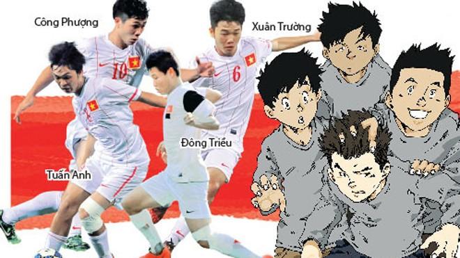 VFF mang… truyện tranh sang Myanmar tặng cầu thủ U19 VN