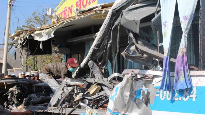 Tình tiết rúng động về ô tô gây tai nạn thảm khốc ở Bình Thuận