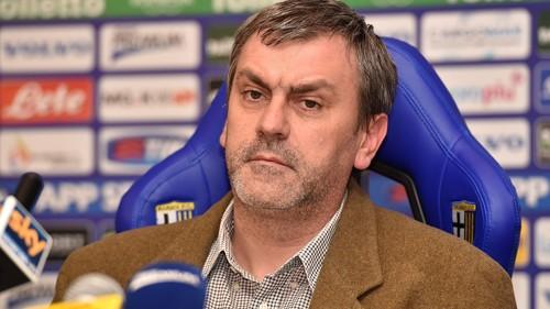 Việc Giampietro Manenti bị bắt giam khiến Parma gần kề với khả năng bị tuyên bố phá sản. Ảnh: AFP.