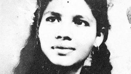 Aruna Shanbaug khi còn là thiếu nữ