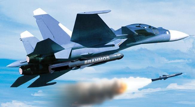 Mô phỏng Su-30 MKI bắn tên lửa hành trình siêu thanh BrahMos. Ảnh: National Interest