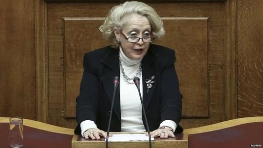 Bà Vassiliki Thanou. Ảnh: Reuters