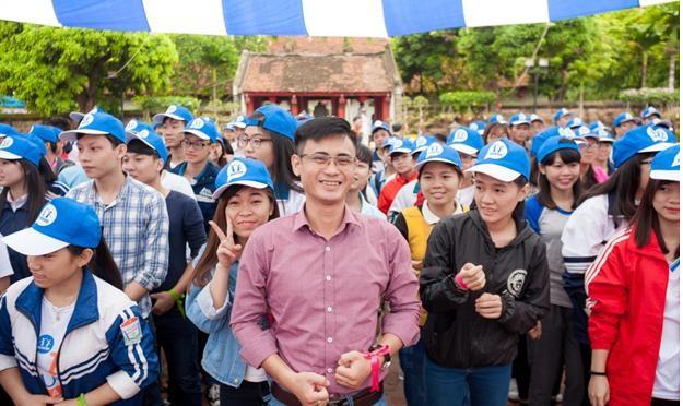 Thầy Nguyễn Bá Tuấn, giảng viên Đại học Công nghiệp Hà Nội