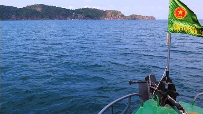 Tàu tuần tra Biên phòng làm nhiệm vụ cứu nạn cứu hộ trên biển