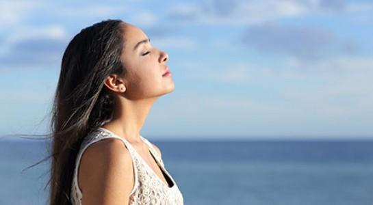 Thở thật sâu giúp cuộc sống khỏe mạnh