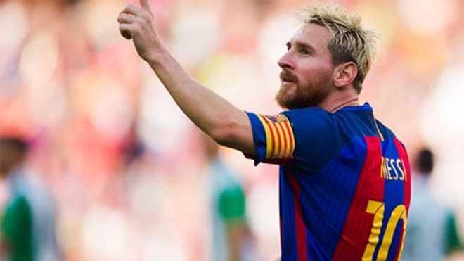 Messi có thể giải nghệ tại Barca. Ảnh: Reuters.