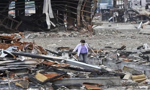 Những trận động đất lớn trên thế giới thường xảy ra ở thời điểm Trăng tròn. Ảnh: Kazuhiro Nogi.