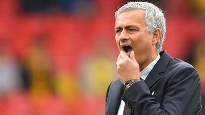 Mourinho đang bị nghi ngờ về năng lực. Ảnh: Reuters