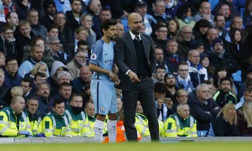 Guardiola không đánh giá cao tầm quan trọng của cuộc đối đầu với Man Utd ở Cup Liên đoàn. Ảnh: Reuters.
