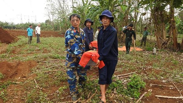 13 hài cốt liệt sĩ được Đội 584 tìm thấy và cất bốc tại xã Gio An.