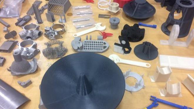 Các chi tiết ICBM được chế tạo bằng máy in 3D. Ảnh: Twitter.