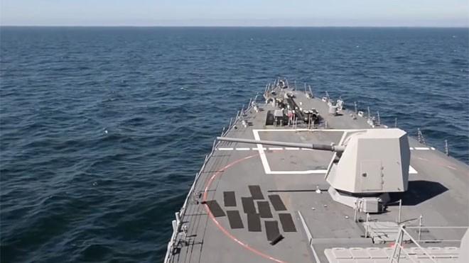 Đạn siêu tốc giúp tăng cường uy lực tàu chiến Mỹ