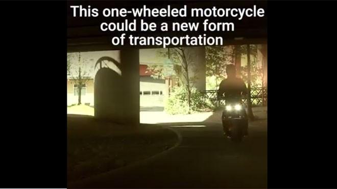 Sáng tạo vô hạn với xe máy một bánh làm chủ tốc độ