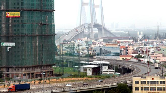 Dự án xây dựng cầu Phú Mỹ có nhiều sai phạm. Ảnh minh hoạ: Hữu Công