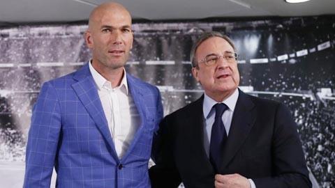 Thua sấp mặt Barca, chủ tịch Real vẫn bảo vệ Zidane
