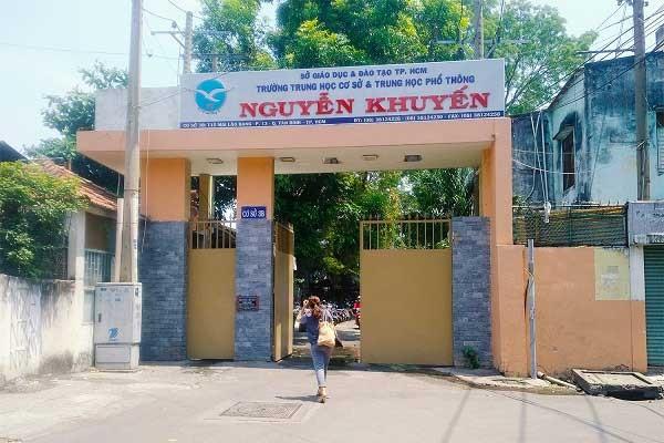 Trường THPT Nguyễn Khuyến nổi danh với 'kỷ luật sắt'