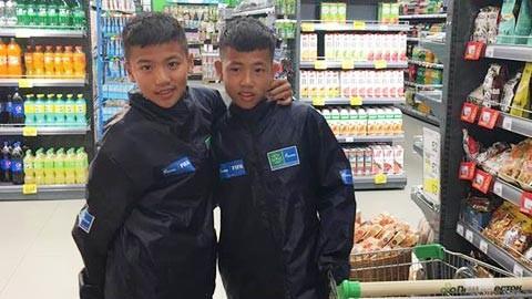 Hai cậu bé Việt Nam dự lễ khai mạc World Cup 2018