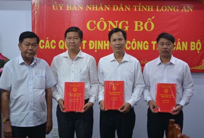Nhân sự mới Long An, Quảng Ninh, Hà Tĩnh
