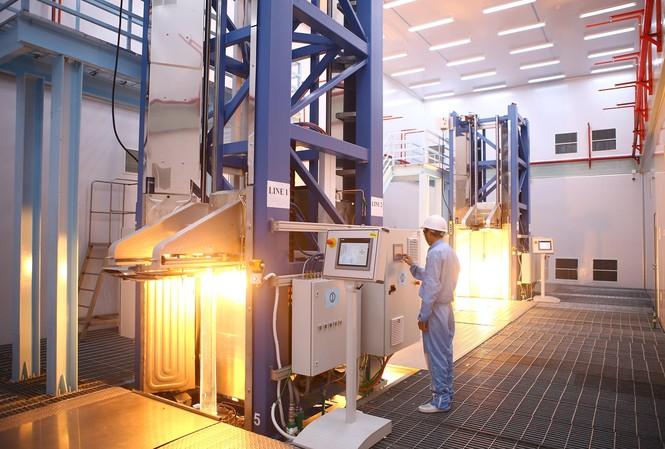 Đây cũng là nhà máy đầu tiên của POSTEF áp dụng mô hình sản xuất thông minh, xưởng thông minh