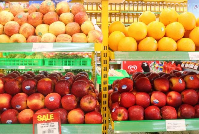 Trái cây nhập khẩu tại Bách hóa Xanh luôn dẫn đầu về độ tươi ngon