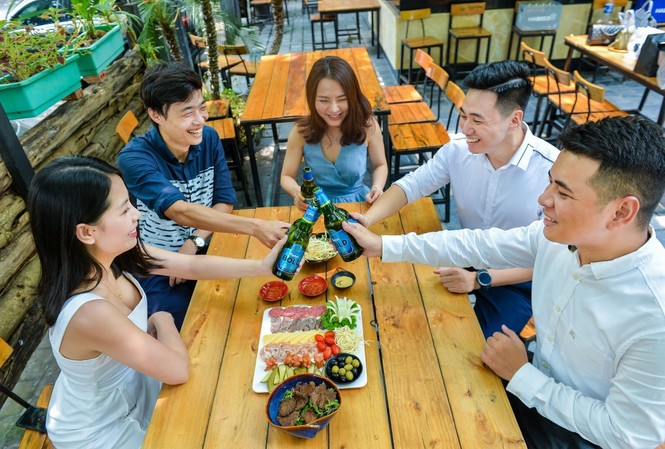 Habeco trình làng hai dòng bia Bold và Light nhắm đến giới trẻ
