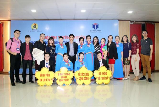 Hội thi tuyên truyền Luật Phòng, chống tác hại của thuốc lá khu vực I của Công đoàn Y tế Việt Nam