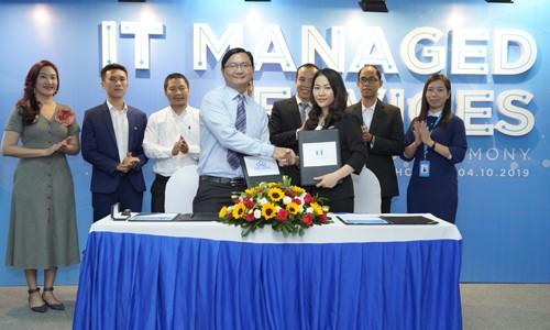 Ký kết hợp đồng Dịch vụ Quản lý hệ thống CNTT giữa CMC TSSG và Marico SEA, đánh dấu sự khởi đầu tốt đẹp của việc ra mắt dịch vụ