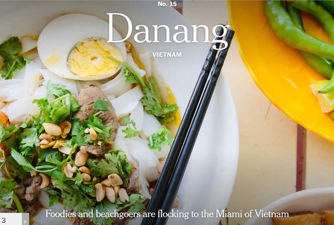 Đà Nẵng được The New York Times ví như Miami của Việt Nam. Ảnh: NYTimes
