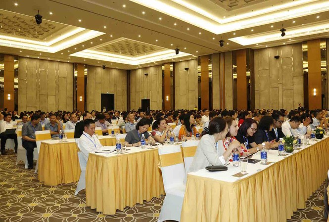 Hơn 800 khách mời, đại diện cho hơn 200 NCC lớn trong nước và quốc tế tham dự Hội nghị nhà cung cấp do Vincommerce tổ chức