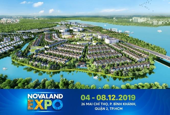 Novaland Expo tháng 12/2019 là triển lãm BĐS quy mô cùng sự quy tụ của nhiều thương hiệu uy tín