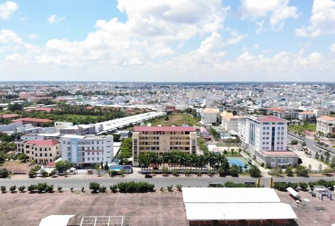 Toàn cảnh thành phố Cà Mau