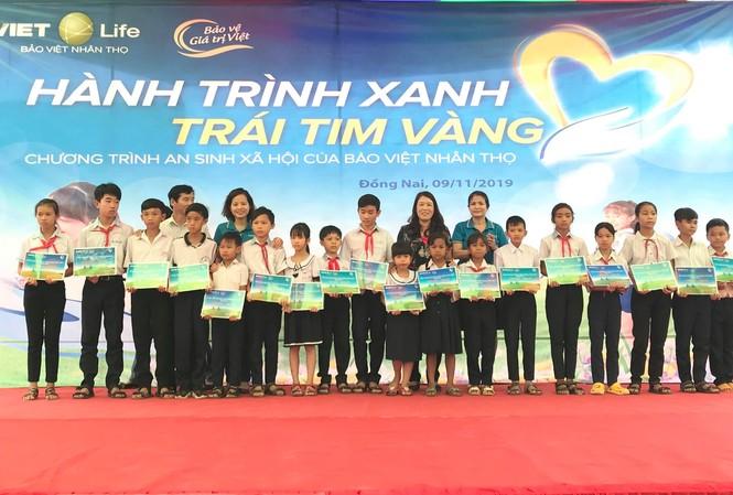 Bảo Việt Nhân thọ phối hợp với Quỹ Bảo trợ Trẻ em tỉnh Đồng Nai