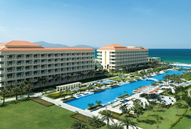 Toàn cảnh khu nghỉ dưỡng Sheraton Grand Đà Nẵng Resort