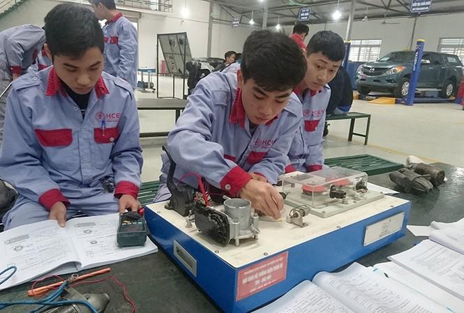Các trường đào toạ nghề hoạt động ngày càng hiệu quả, tuyển sinh được cải thiện từng năm, và có tới hơn 85% học viên nghề ra trường có việc làm với thu nhập tốt.