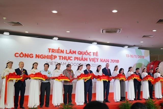 Buổi lễ khai mạc triển lãm Vietnam Foodexpo 2019