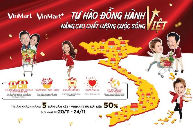 VinMart & VinMart+ triển khai chương trình khuyến mại lớn chưa từng có mừng sinh nhật 5 tuổi