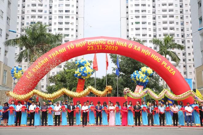 Khánh thành dự án HQC Plaza – Tổ hợp chung cư nhà ở xã hội quy mô lớn nhất TP.HC