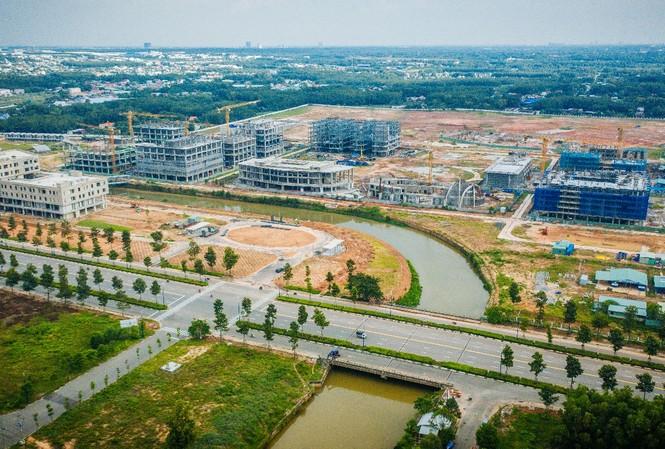 Trường Đại học Việt Đức là một trong những công trình điểm nhấn quan trọng ở phía Bắc tỉnh Bình Dương.