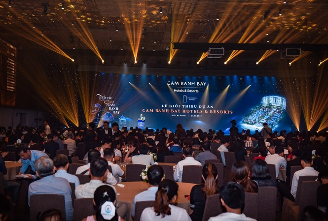Hơn 800 nhà đầu tư tìm cơ hội 'xuống tiền' ở dự án Cam Ranh Bay