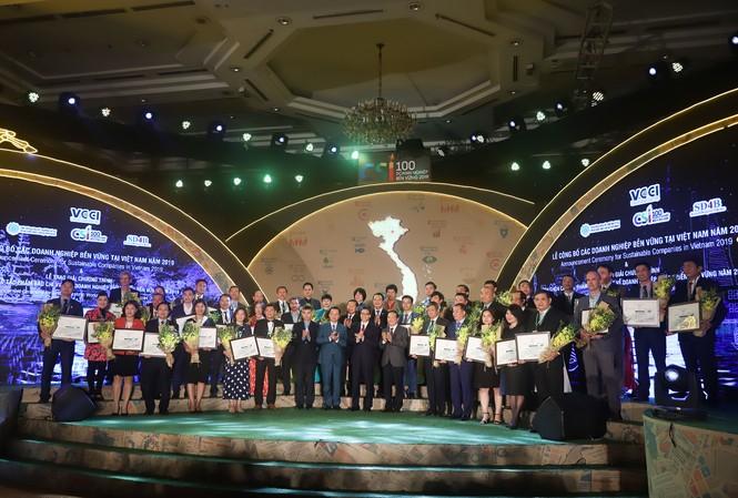 Top 100 Doanh nghiệp đạt giải Doanh nghiệp PTBV năm 2019