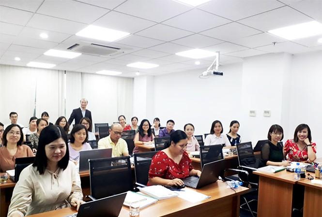Các học viên tham gia Khóa học Quản lý rủi ro và kiểm soát nội bộ tại Viện FMIT®
