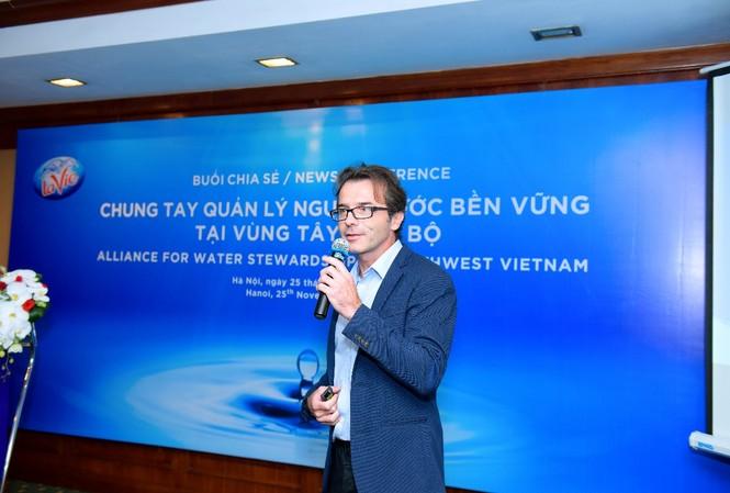 Ông Marc Alary, phụ trách Phát triển Bền vững về Môi trường và Nước, Nestlé Waters - châu Á