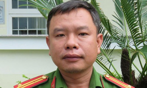 Ông Nguyễn Việt Cường khi còn là đội trưởng Đội CSĐT tội phạm ma túy Công an TP Tuy Hòa. Ảnh: Pháp luật TP Hồ Chí Minh