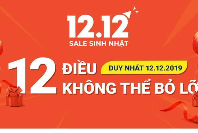 Shopee 12.12 Sale Sinh Nhật - 12 điều không thể bỏ lỡ