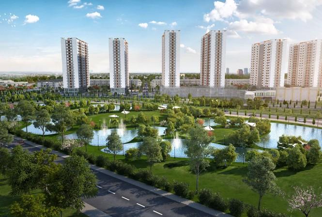 Him Lam Green Park nằm trong Khu đại đô thị hiện đại với tổng diện ích lên tới gần 300ha